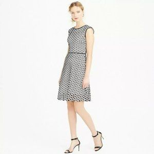 J Crew | Punched Out Eyelit Dress 0